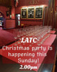 LATC Volunteers Christmas Party 8th Dec