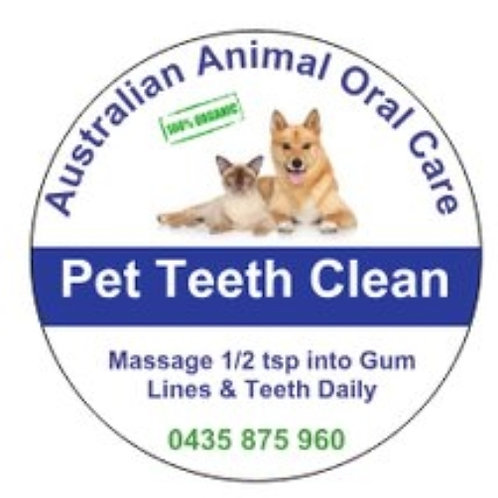 Organic Pet Dental Paste