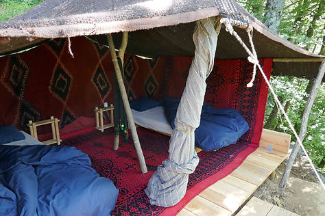 Nomadenzelt aus Marokko