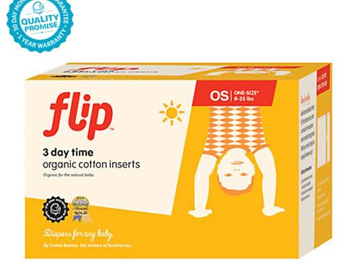 Flip Organic Inserts (3pack)