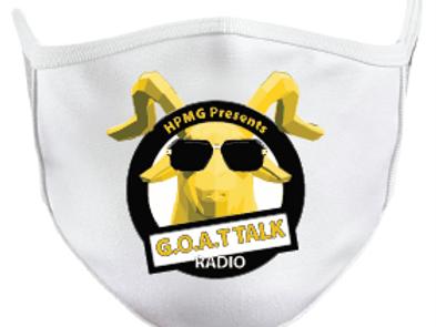 Goat Talk Radio Mask with Logo
