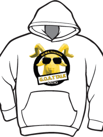 Goat Talk Radio Hoodie with Logo