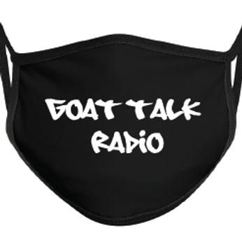 Goat Talk Radio Mask-Black
