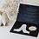 Thumbnail: BE&LIV Blossom tealight candleholder white w/silver