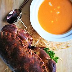 Crab Bisque with Jumbo Lump Crab Meat