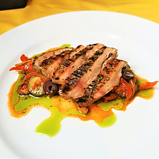 Grilled Chicken Breast with Ratatouille