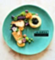 Snow Fish, Green Asparagus, Crab, Tarrag