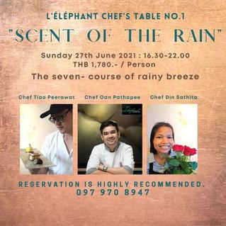 L'éléphant Chef's Table no.1