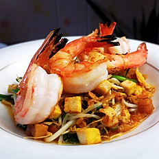 Grilled Shrimp Beansprout in Tamarind Sauce