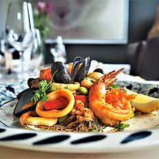 Seafood Paella (Spanish Fried Rice with Seafood)