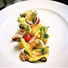 Grilled Vegetable Lemon Balsamic Dressing