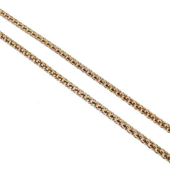 "14kt Yellow ""Popcorn"" Link Chain"