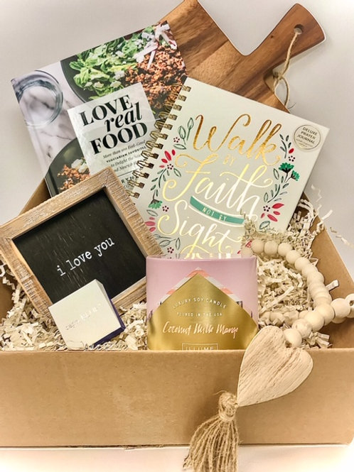 "August Box of Love: ""Eat, Pray, Love"""