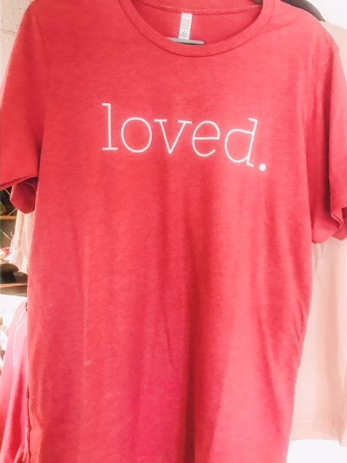 Build Your Box Loved Tee