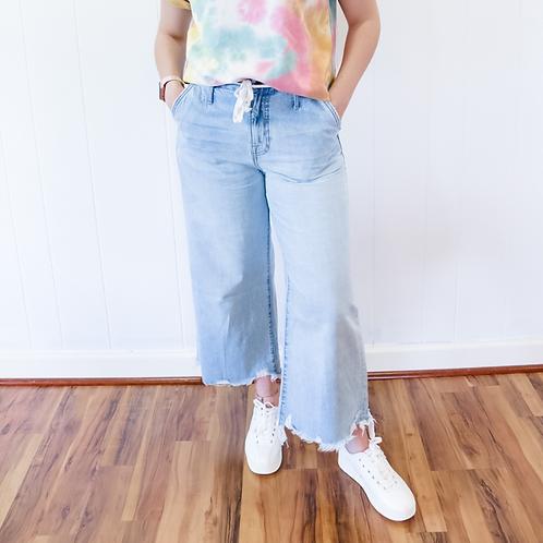 Fringe Hidden Jeans