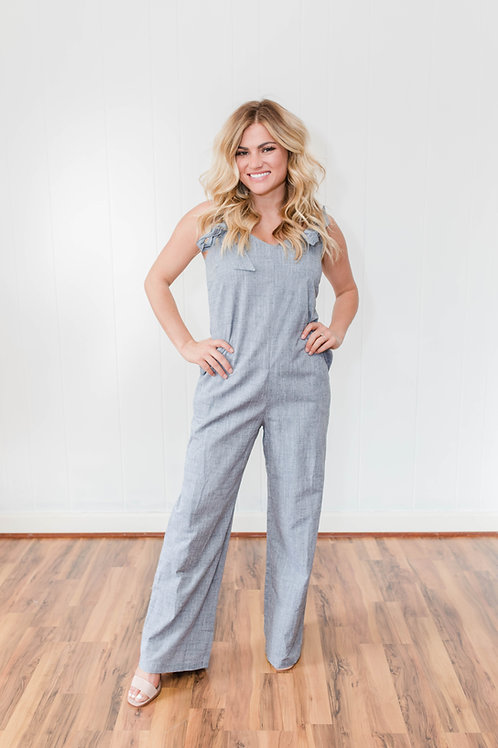 Bow Strap Jumpsuit