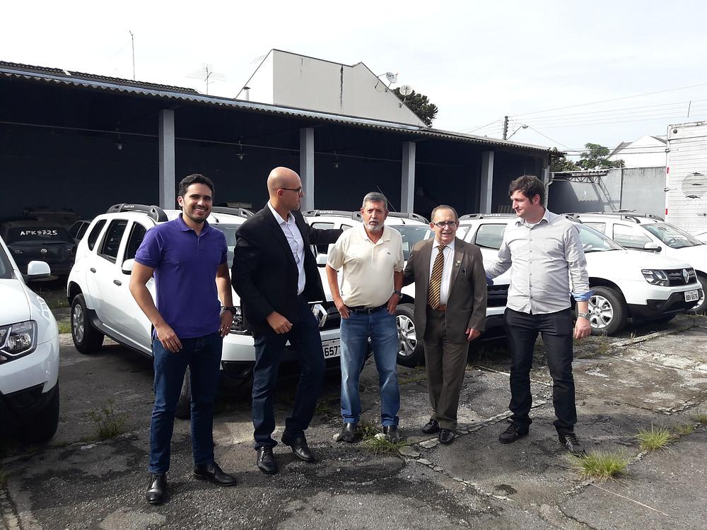 Delegados Diego Elias, Michel Carvalho, Wolker, Recalcatti e João Marcelo