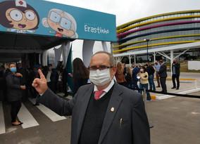 Recalcatti destaca qualidade profissional do novo Hospital Erastinho