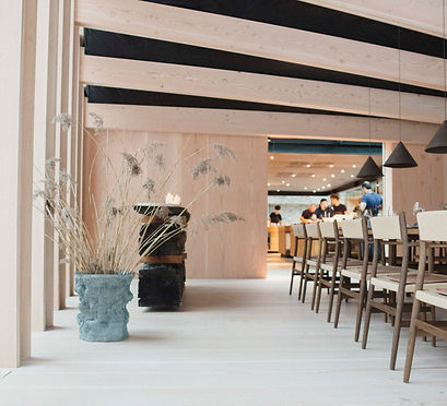 """MATER"" by Frederik Nystrup Larsen and Oliver Sundqvist X STUDIO DAVID THULSTRUP  @ NOMA 2.0 COPENHAGEN"