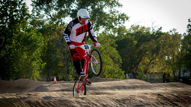 "24"" Bike Rider at Pearland BMX"