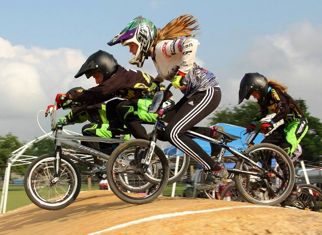 Girls Rock at Pearland BMX