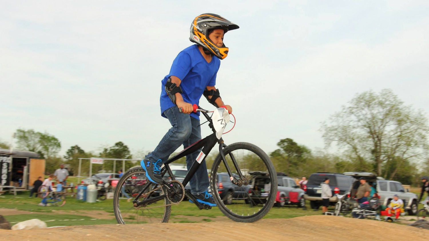 Get started now riding Pearland BMX