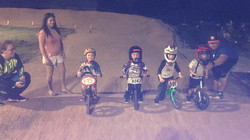 Strider riders at Pearland BMX