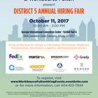 D5 WorkSource Hiring Fair