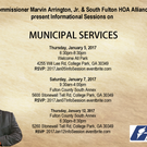 2017 Muncipal Services