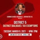 District 5 Spring Virtual Town Hall Flye