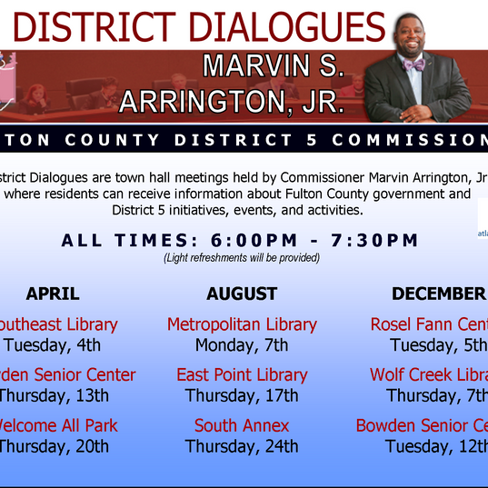 2017 District Dialogues