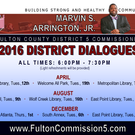2016 District Dialogues