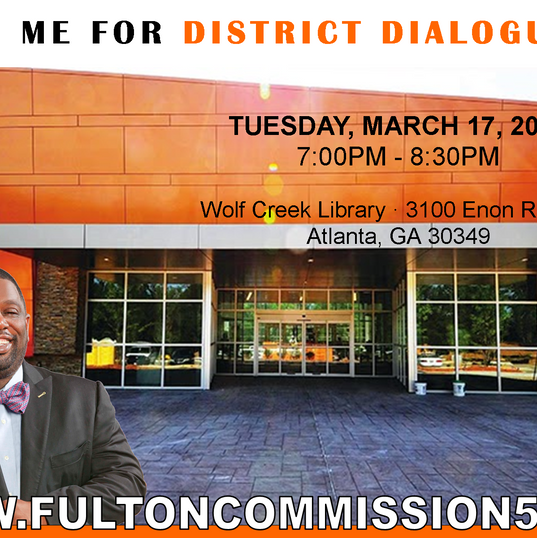 2017 Spring Wolf Creek District Dialogues