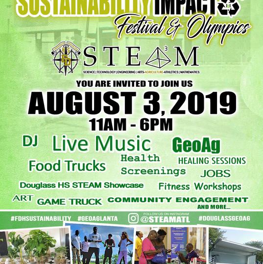 Douglass HS Sustainability Fest - Aug 3
