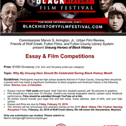 2019 BHFF Student Competitions