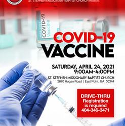 St. Stephen Vaccine Day Pt. 1