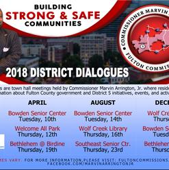 2018 District Dialogues