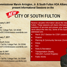 2017 COSF Information Sessions
