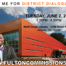 2015 Summer Wolf Creek District Dialogues June