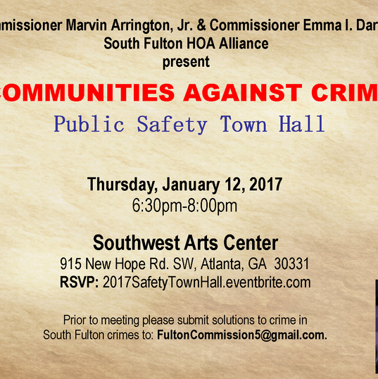 2017 Public Safety Town Hall