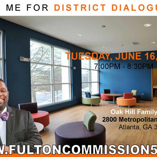 2015 Summer Oak Hill District Dialogues