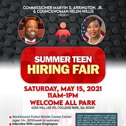 D5 Summer Teen Hiring Fair