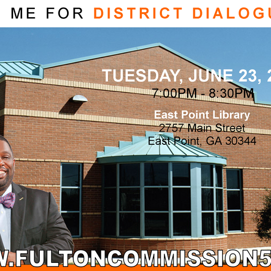 2015 Summer East Point District Dialogues