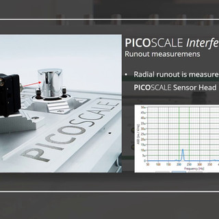 PICOSCALE Interferometer for high precision displacement measurements