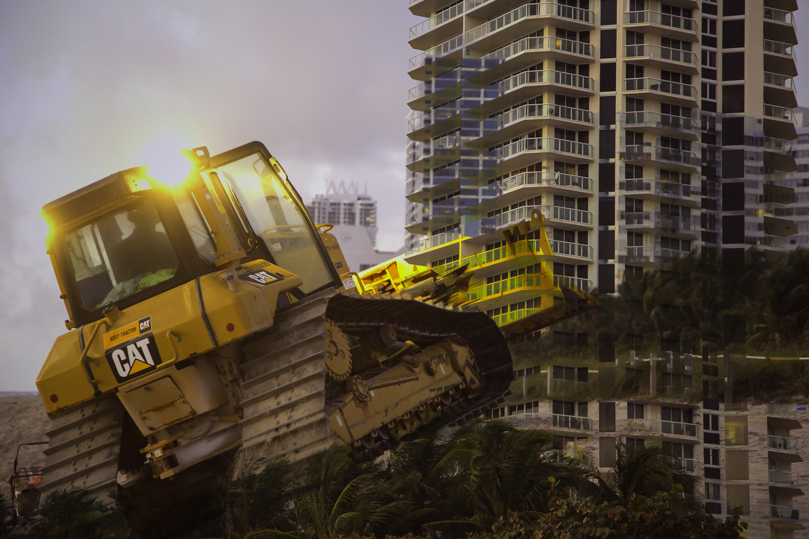 Bulldozers at Dawn #1