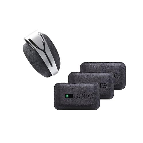 SpireStone( 1セット)+Spire health tag(3パック)