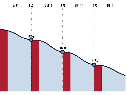 女性の性周期変異グラフ例.png