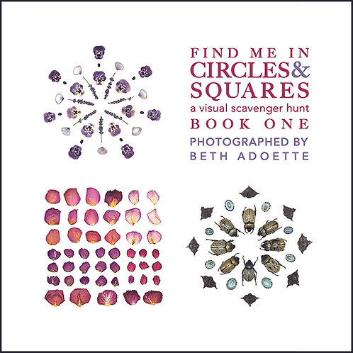 Find Me in Circles & Squares: A Visual Scavenger Hunt BOOK ONE