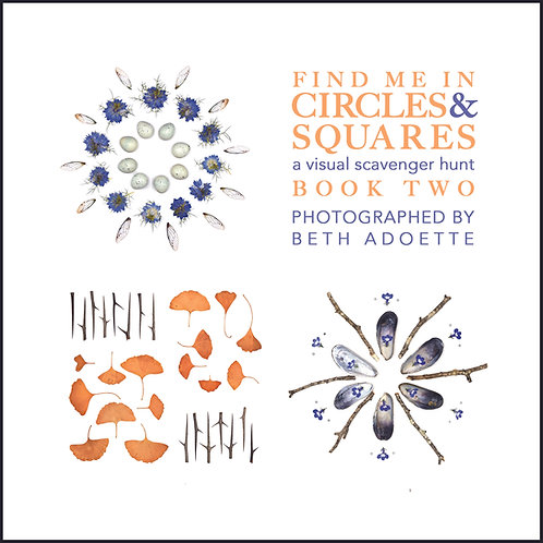 Find Me in Circles & Squares: A Visual Scavenger Hunt BOOK TWO
