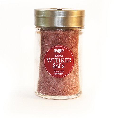 Witiker Salz Rotwein gemahlen im Streuer, 90g